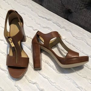 Michael Kors brown heels